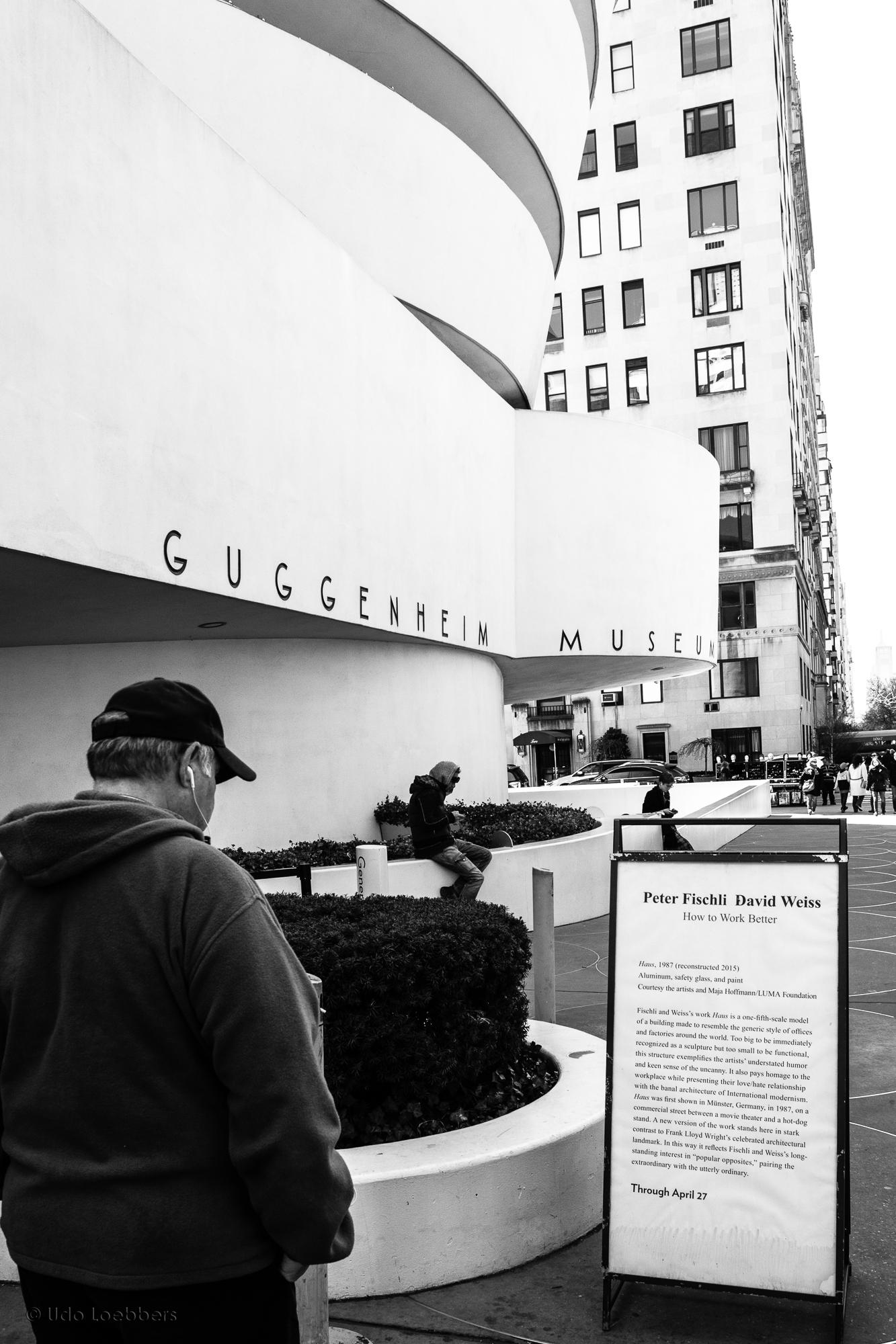 Frischli Weiss @ Guggenheim, NYC