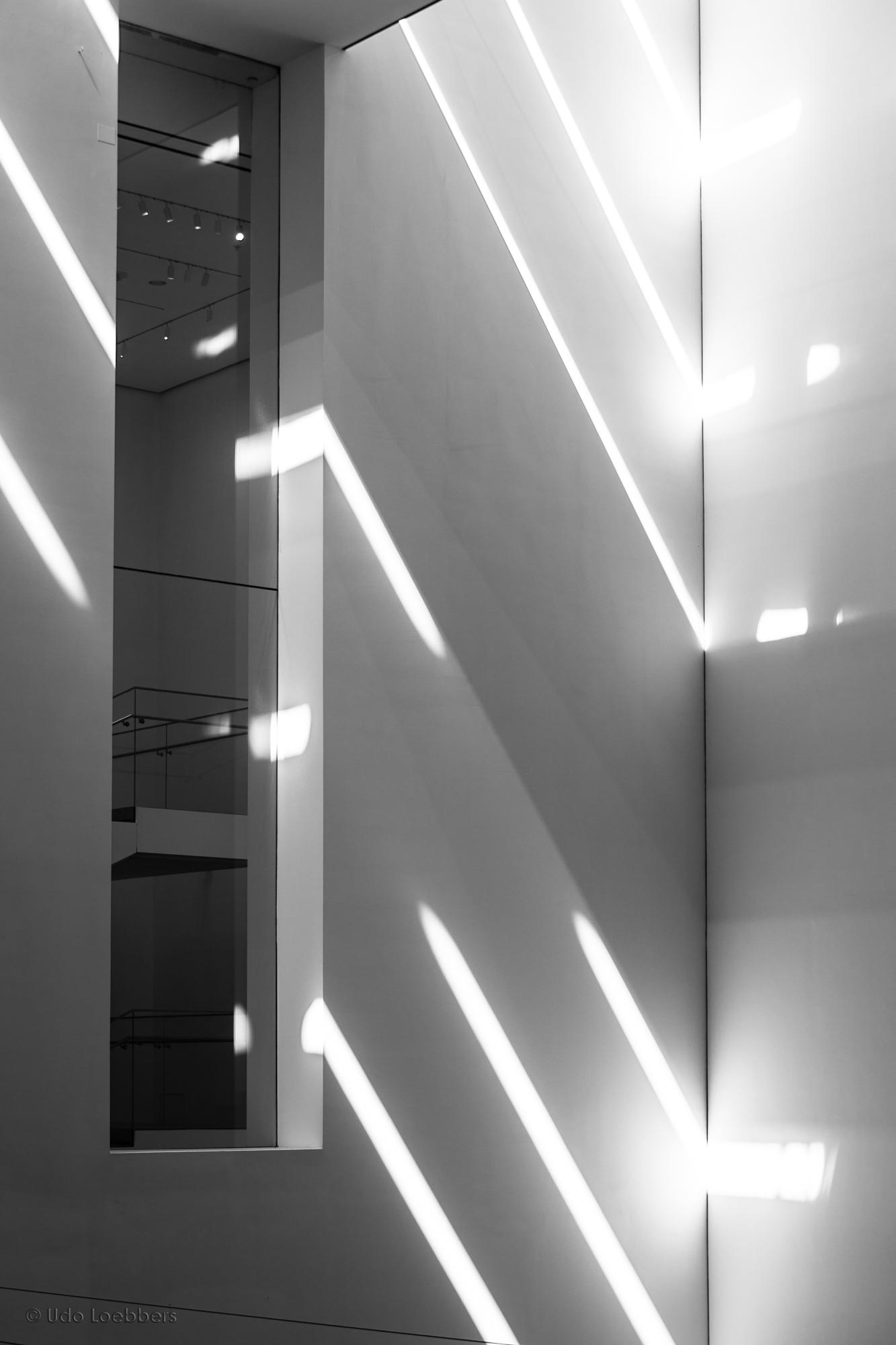 Modern Art made by Light