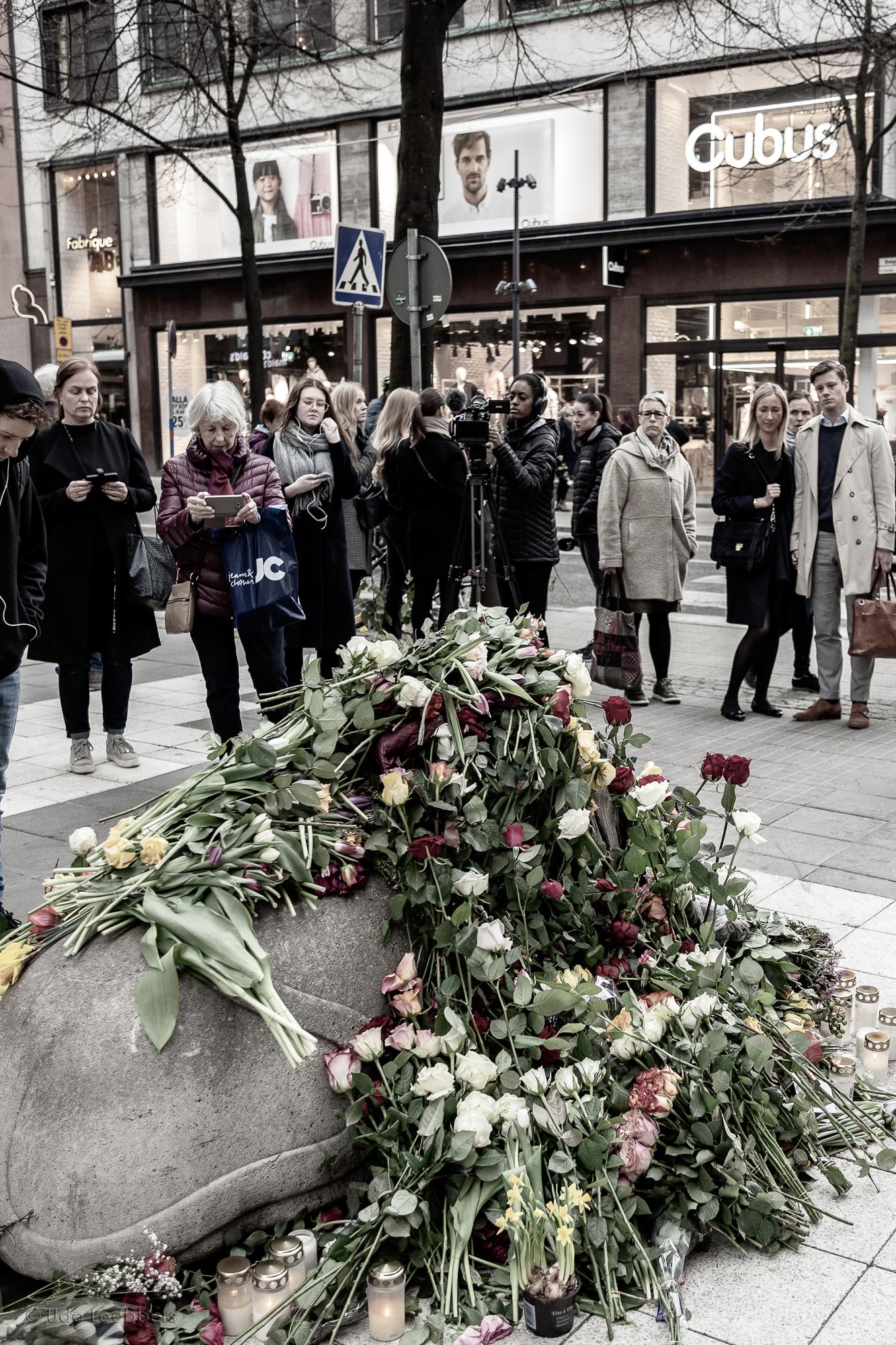 Stockholm Assault, April 17