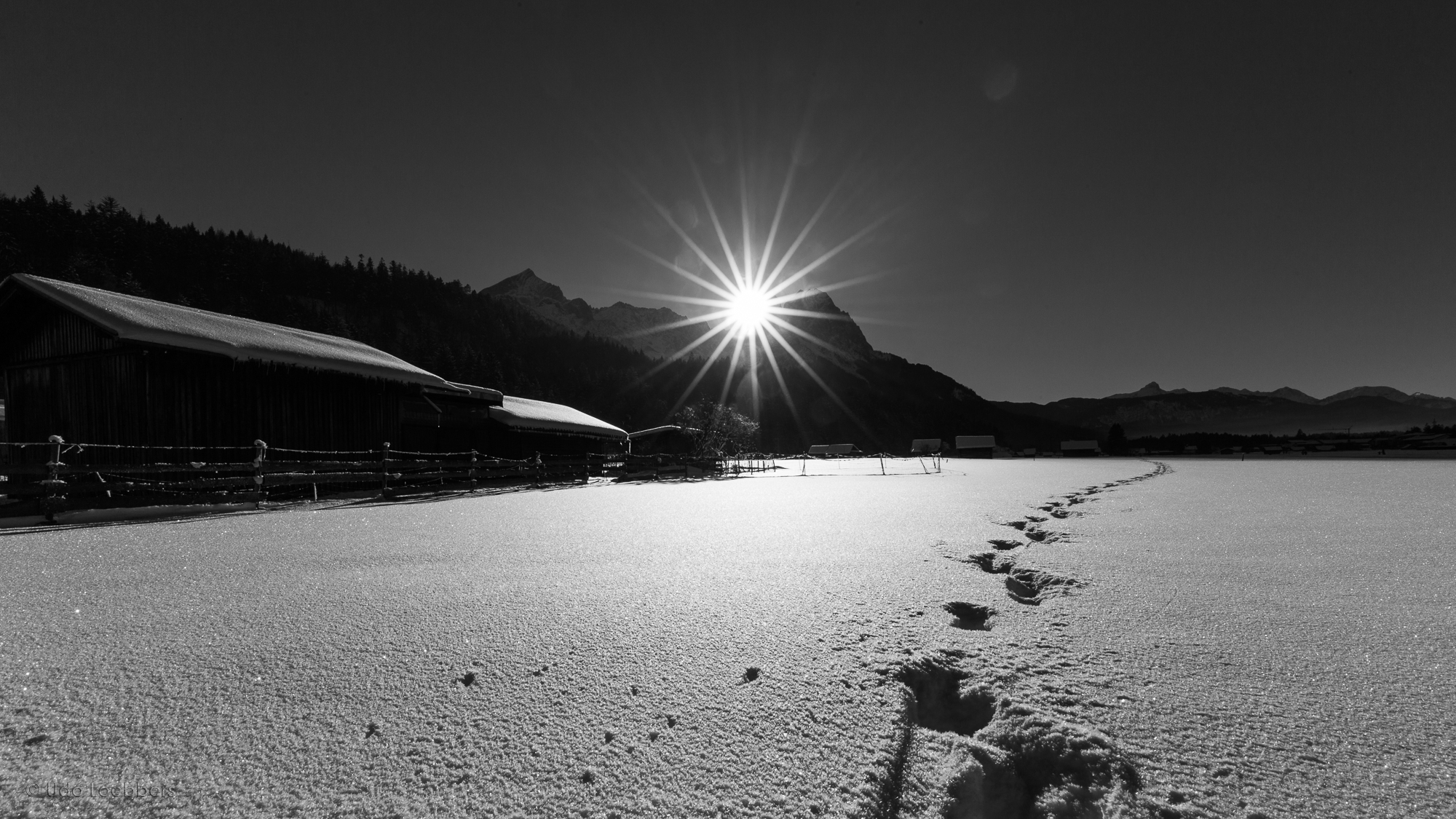 Winterstimmung in Garmisch-Partenkirchen