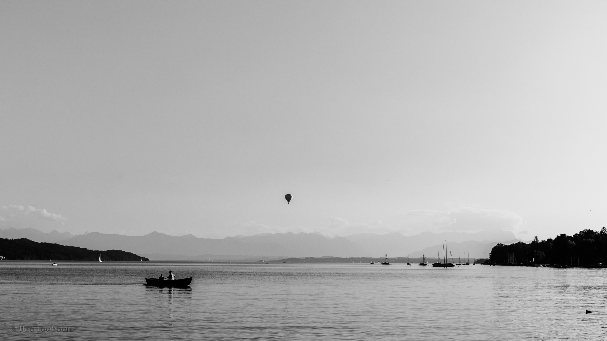 Abendstimmung am Starnberger See