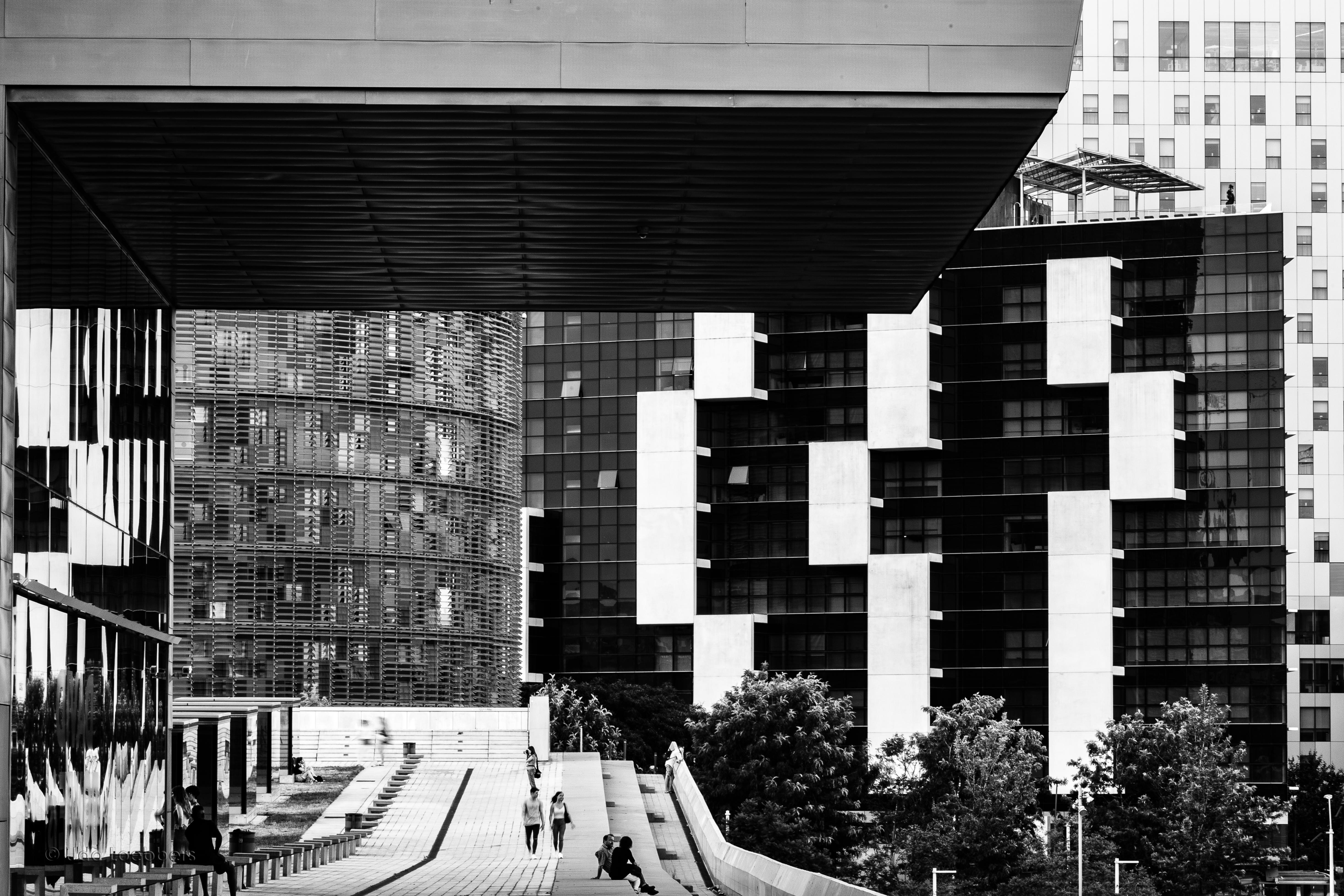 Design Museum & Torre Agbar, Barcelona