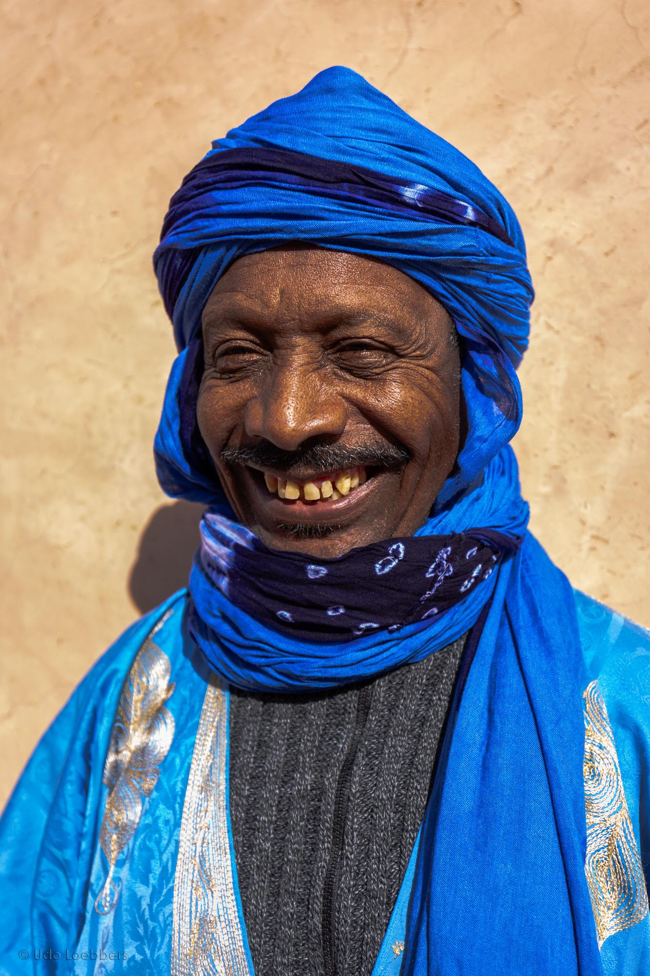 Verkäufer in Ait Ben Haddou, Marokko