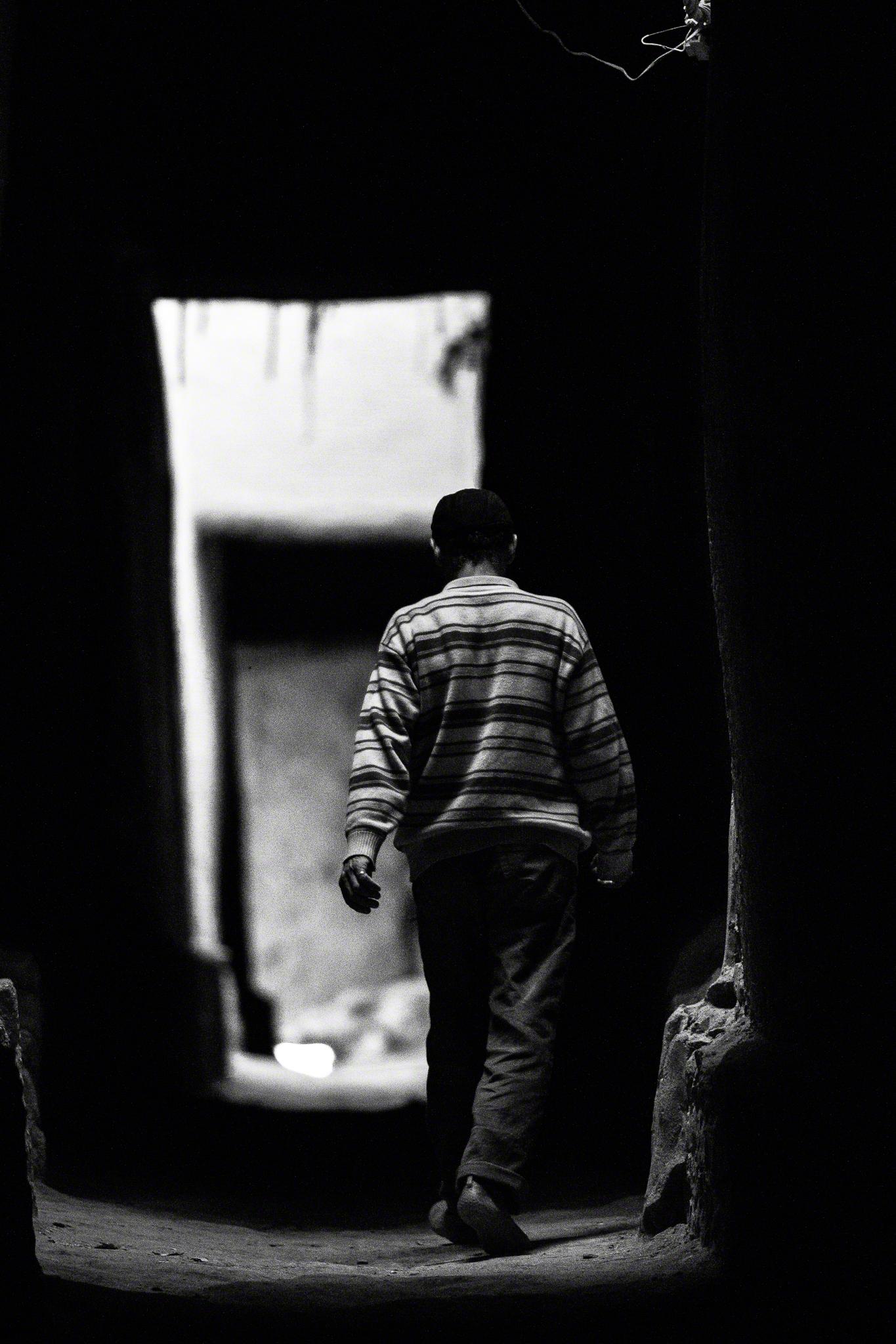 Man in Kasbah